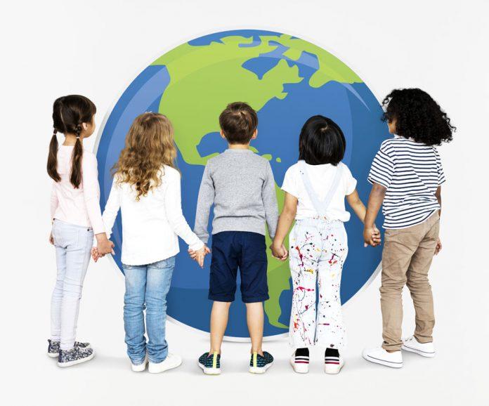 children save the world